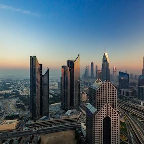 The Dubai City by Salman Ahmed - Buildings & Architecture Other Exteriors ( dubai )