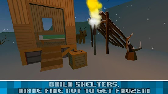 Winter Craft Survival Sim 3D- screenshot thumbnail