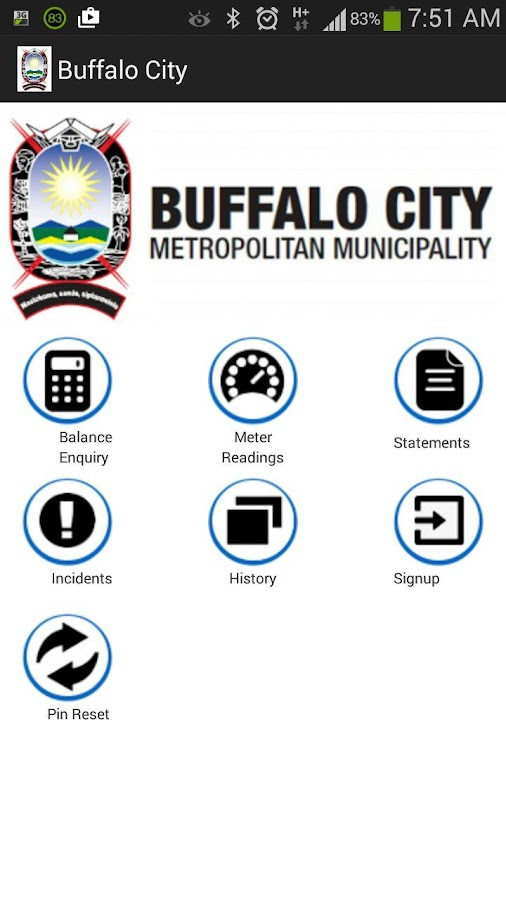 BCMM Mobile Municipal App Screenshot 0