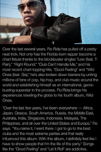 Flo Rida App - screenshot