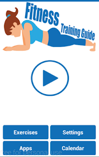 Fitness Training Program screenshot for Android