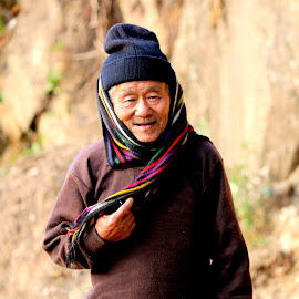 The Smile.................... by Soutik Halder - People Street & Candids ( lava, india, nepali, bhutia, darjeeling )