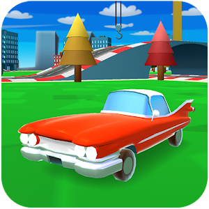 Cover art Cartoon Cars Driving