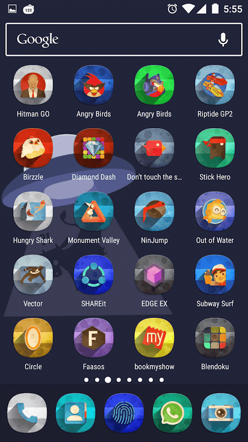 Classic Material Icon Pack Screenshot 3