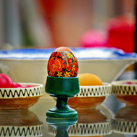Eggs all around VIII by Ciprian Apetrei - Public Holidays Easter ( eggs · easter · still life · decorations )