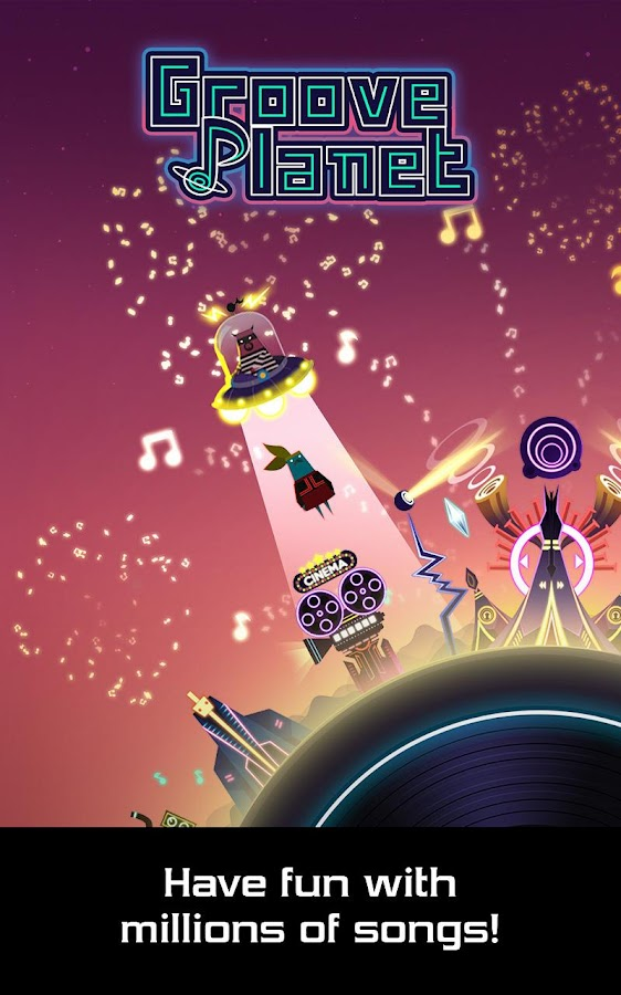 Groove Planet Beat Blaster MP3 Screenshot 4