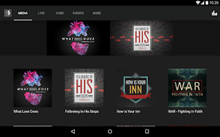 Screenshot of Destiny Church