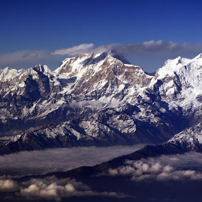 Himalaya by Samrat Sam - Landscapes Mountains & Hills ( clouds, mountains, himalaya, snow, landscapes,  )