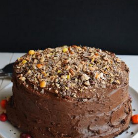 Chocolate Cake with Coffee Nut Frosting