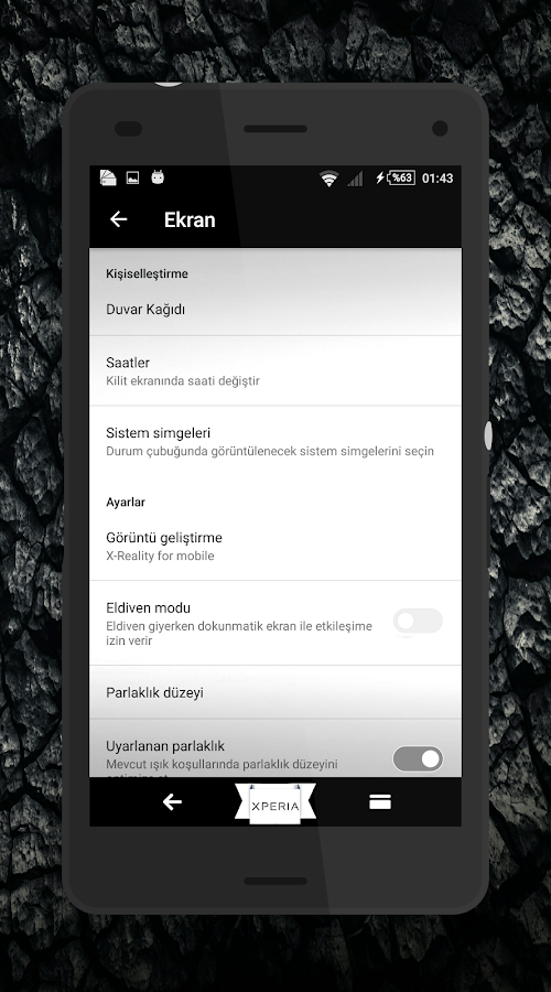 Theme MarshBlack For Xperia Screenshot 3