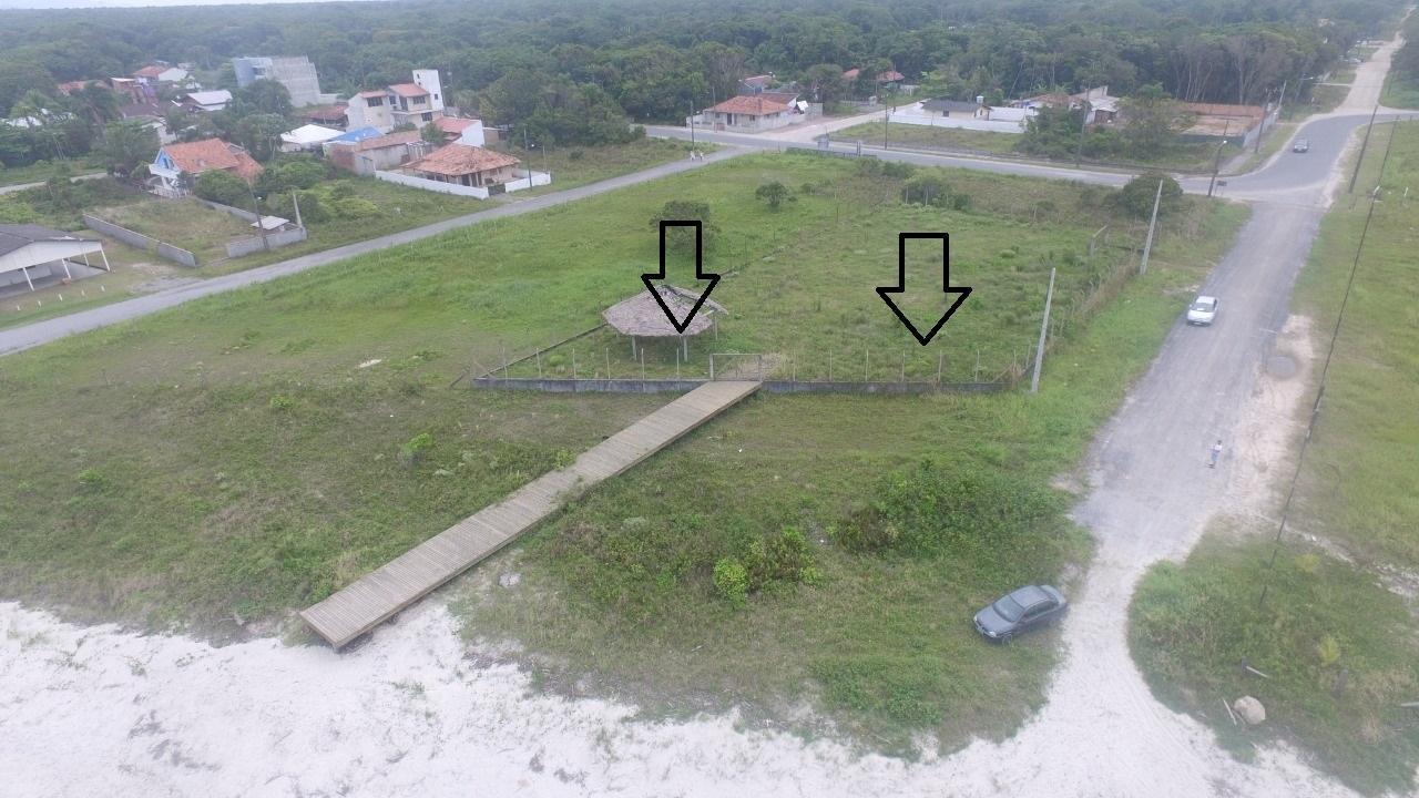 Terreno à venda beira mar  , 800 m² por R$ 500.000 - Itamar - Itapoá/SC