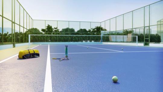 Perspectiva da Quadre de Tênis