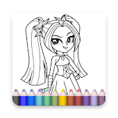 App Coloring Book For Equestria Girls My Little Pony APK for Windows Phone