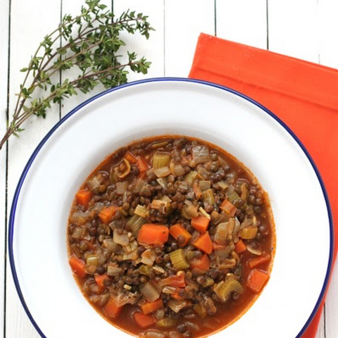 The Barefoot Contessa's Lentil Vegetable Soup
