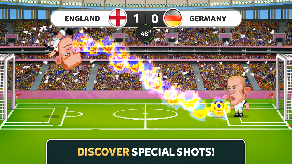 EURO 2016 Head Soccer Screenshot 1
