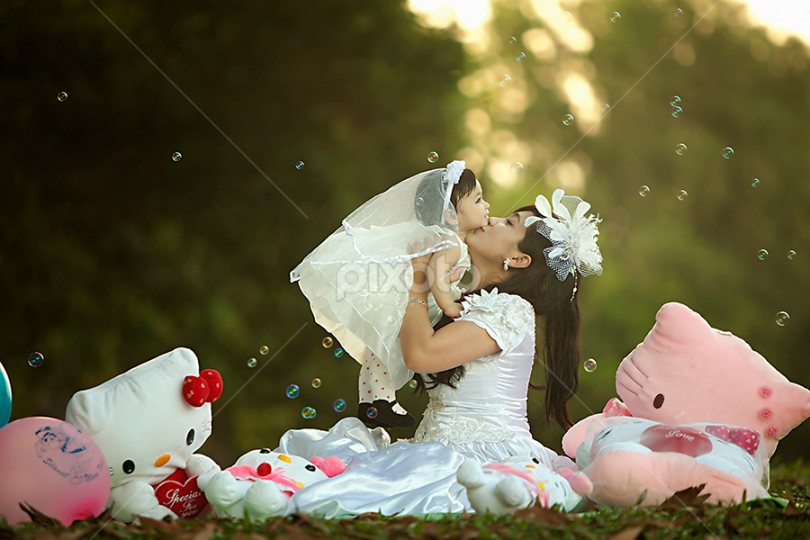 Love is All Around by Fauzan Maududdin - Wedding Bride & Groom
