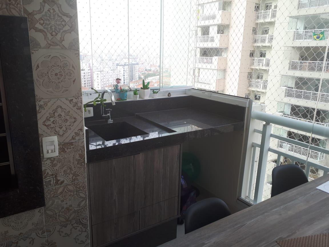 Apartamento com 2 dormitórios à venda, 150 m² por R$ 997.000 - Marapé - Santos/SP