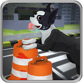 Pet Dog Highway Run APK for Bluestacks
