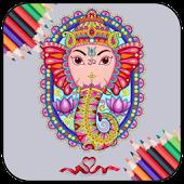 Ganesha Color Book APK for Bluestacks