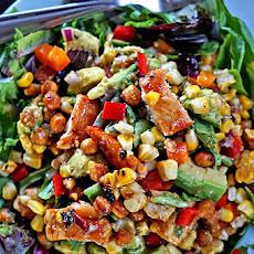 Grilled Corn Salad with Smokey Paprika Vinaigrette Recipe | Yummly