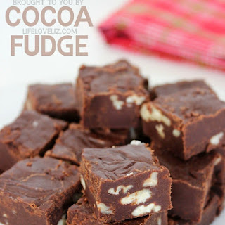 Pecan Cocoa Fudge