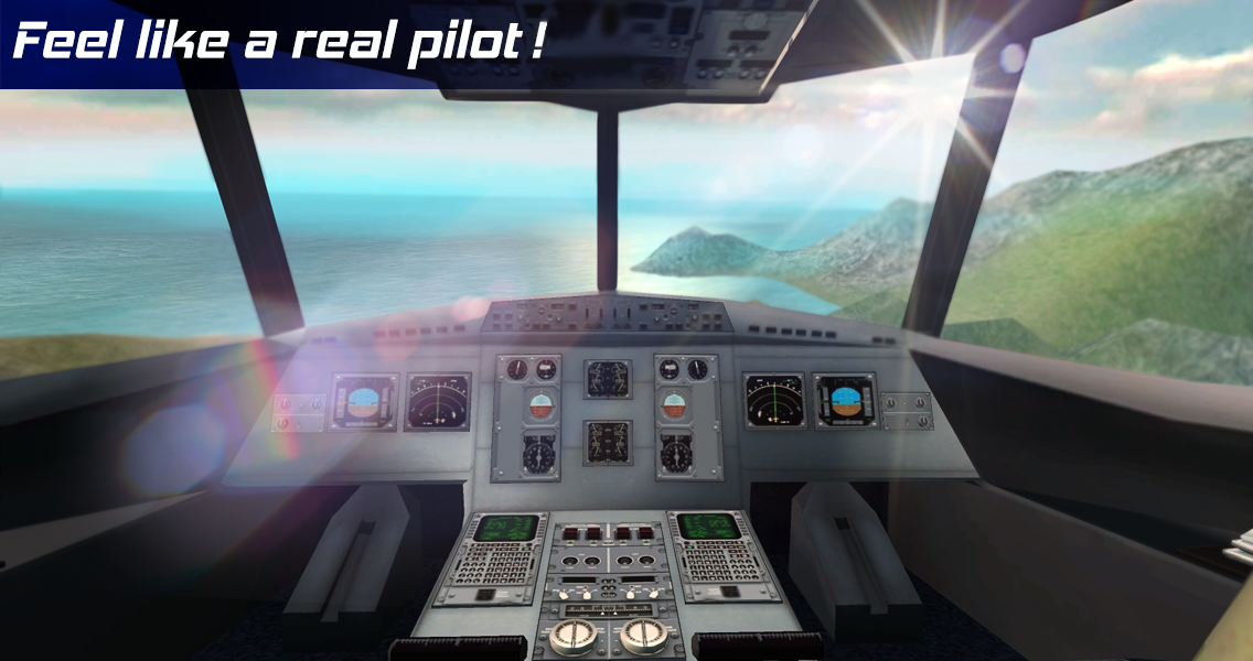 Real Pilot Flight Simulator 3D Screenshot 6