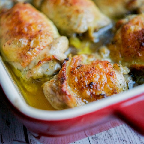 Crispy Ranch Baked Chicken Thighs