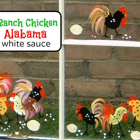 Ranch Chicken with Alabama White Sauce