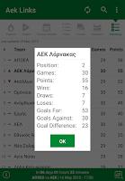 Screenshot of Links & News for Aek Larnaca
