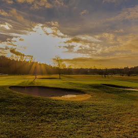 Golfarena in december by Dan Westtorp - Sports & Fitness Golf