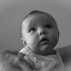 Darci by Mick Heywood - Babies & Children Babies ( child, girl, small girl, black & white, baby )