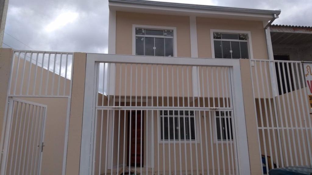 Sobrado residencial à venda, Estação, Araucária.