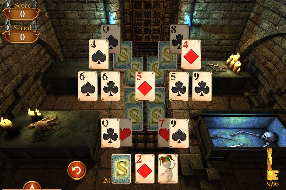 Solitaire Dungeon Escape Screenshot 1