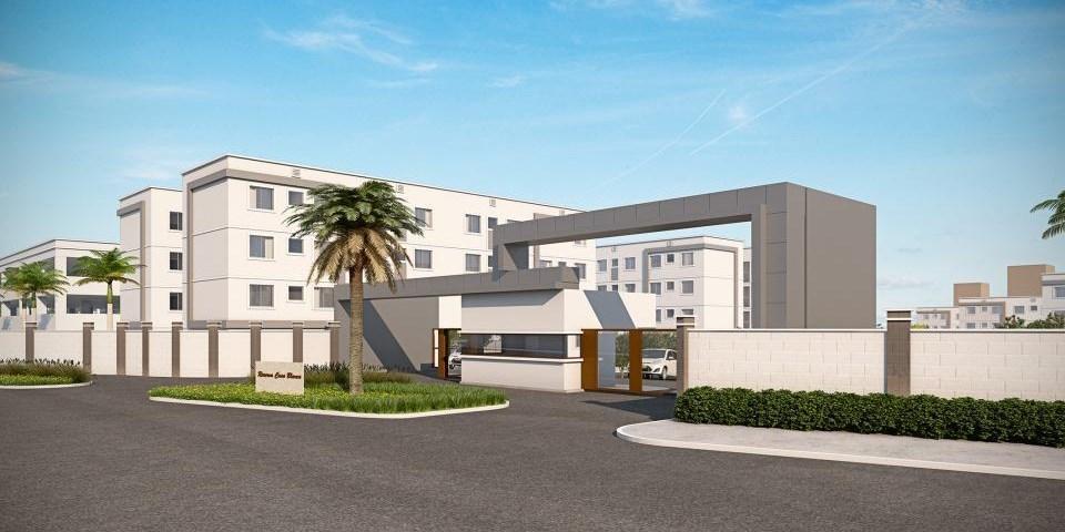 Apartamento residencial à venda, Colônia Rio Grande, São Jos...