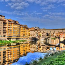 Ponte Vecchio by Aura Vasile - Buildings & Architecture Bridges & Suspended Structures