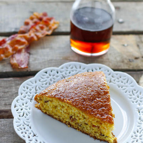 Maple Bacon Skillet Cornbread