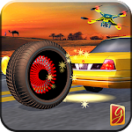 Monster Car Tyre Racing Icon