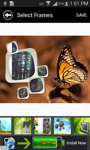 Latest Nature Picture Frames - screenshot