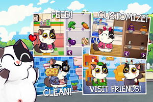 Screenshot of Mimitos cat - Virtual Pet