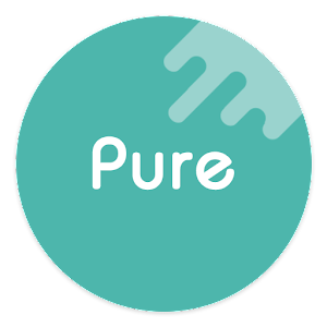 Pure - Icon Pack (Flat Design) app for android