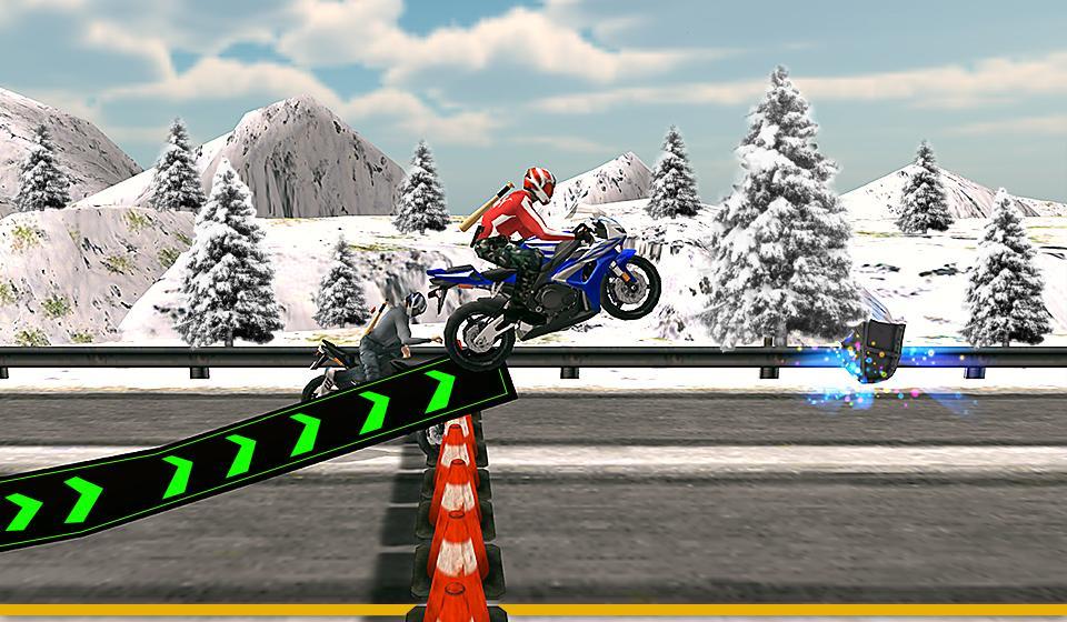 Bike Attack Race : Stunt Rider Screenshot 5