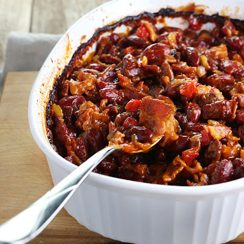 Lori's Famous Maple Bacon Baked Beans