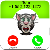 Call From Tom Talking Cat APK for Bluestacks