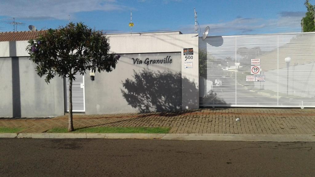 Casa com 3 dormitórios à venda no Condomínio Via Granville em Londrina, 117 m² por R$ 650.000