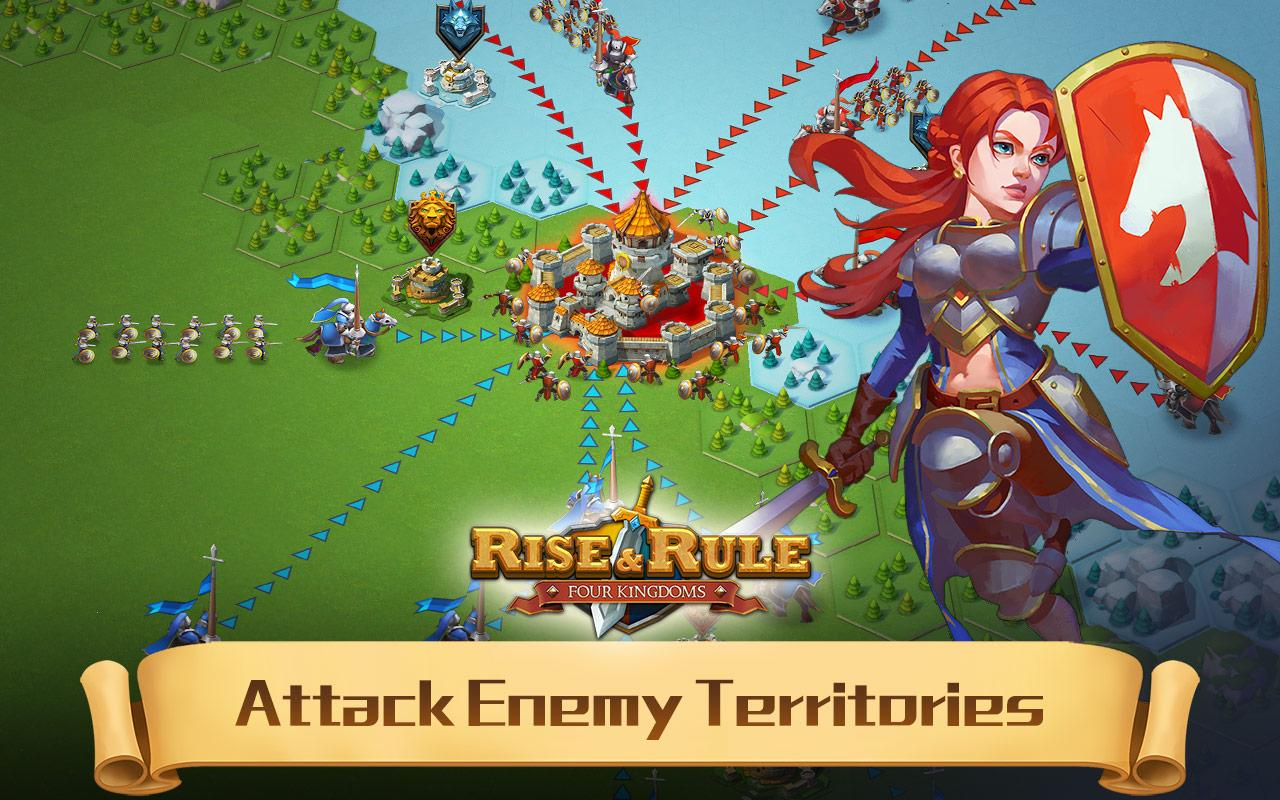 Rise & Rule: Battle for Throne Screenshot 2