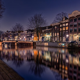 Keizersgracht Amsterdam by Michael van der Burg - City,  Street & Park  Historic Districts ( canals, nederland, keizersgracht, herenstraat, holland, amsterdam, nl, netherlands )