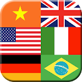 Game Flag Quiz Gallery : Guess Name, Country and Color apk for kindle fire