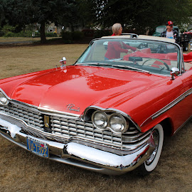 Plymouth Fury by Terese Hale - Transportation Automobiles ( red, yesterday, classic, car, vintage )