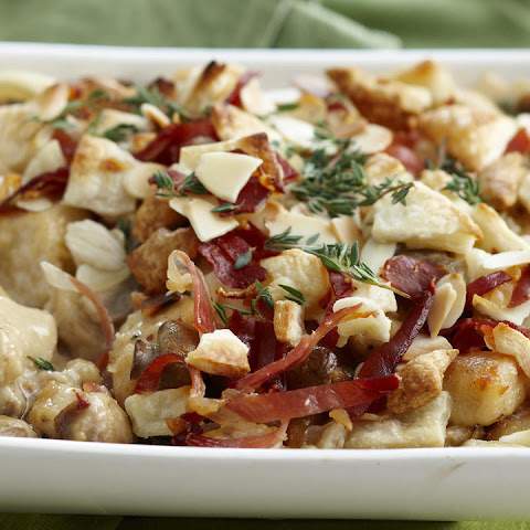 Chicken, Mushroom, and Prosciutto Casserole