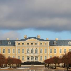 Rundale Palace by Atis Kalniņš - Buildings & Architecture Public & Historical ( old palace, historical palace, rundale palace, old building, palace, historical building )